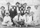 Cadia cricket team, circa 1900